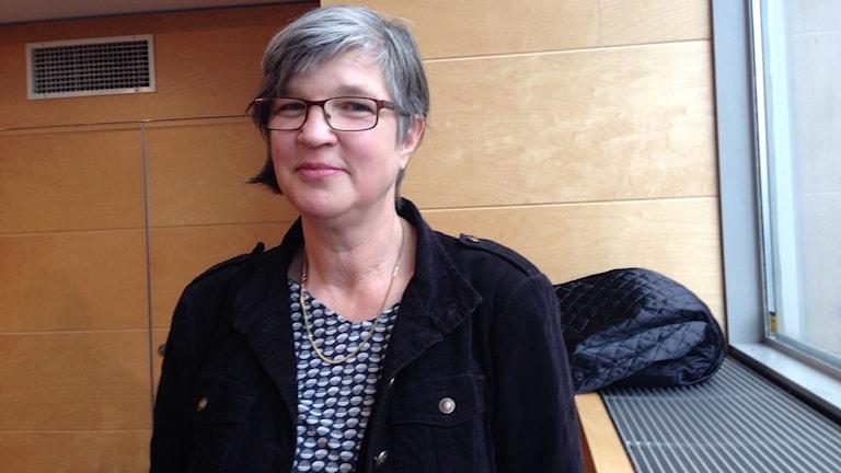 Katarina Jönsson Norling är ordförande för Konstnärernas riksorganisation.
