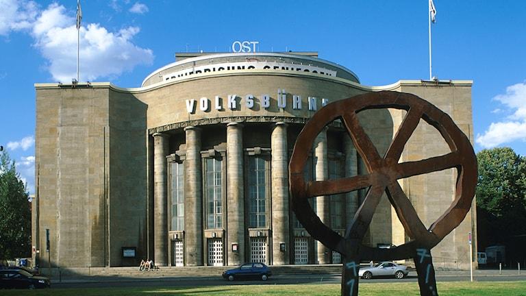 Volksbühne i Berlin-Mitte.