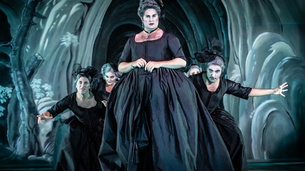 Rubert Enticknap i Purcells Dido och Aeneas på Confidencen vid Ulriksdals slott utanför Stockholm.