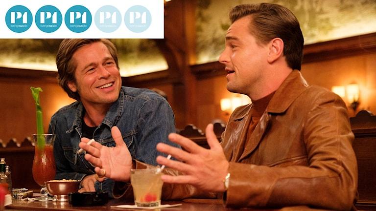 """Brad Pitt och Leonardo DiCaprio i Quentin Tarantinos """"Once upon a time in Hollywood""""."""