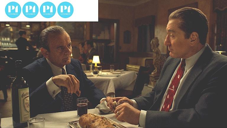 Joe Pesci och Robert De Niro i The Irishman.