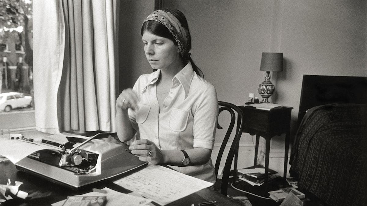 Författaren Margret Drabble