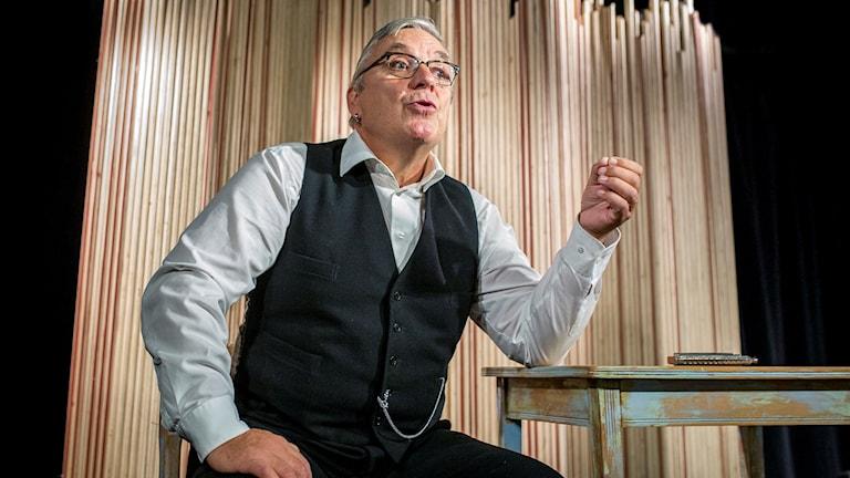 Greger Ottosson i Skogens konung. Foto: Patrick Degerman.