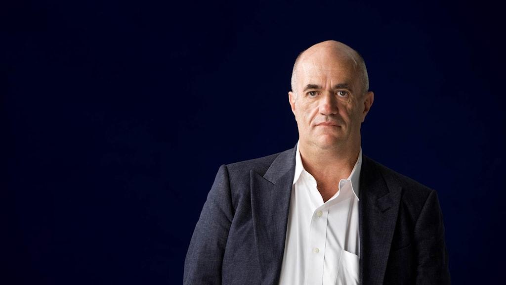 """Colm Tóibín, aktuell med romanen """"Namnens Hus""""."""