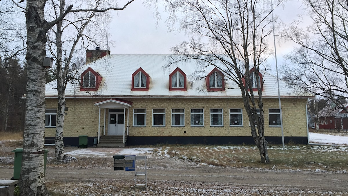 Folkets hus i Karlsborg.