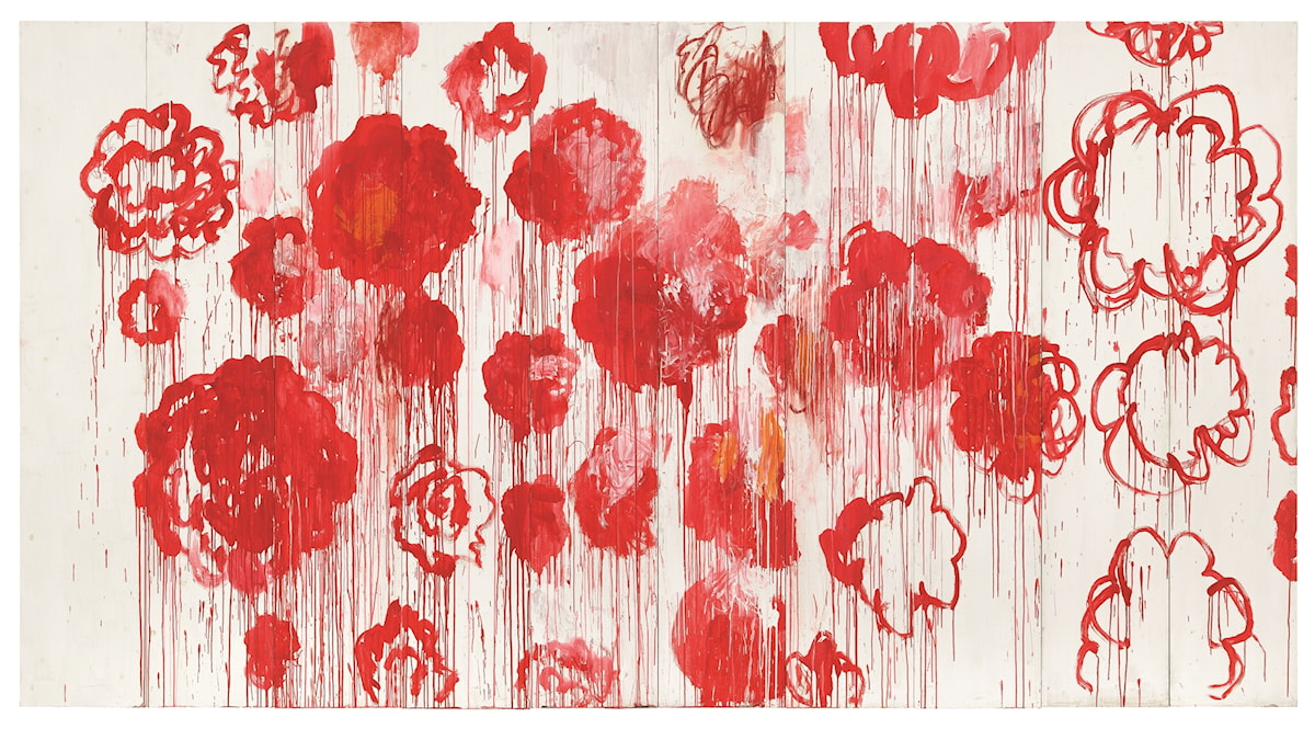 Blooming av Cy Twombly 2001-2008