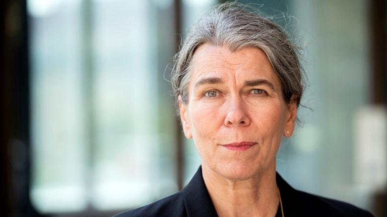 Författaren Cilla Naumann.