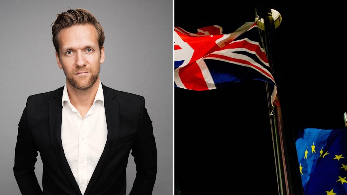 Daniel Lagerqvist, kommunikationsdirektör på Discovery Networks om brexit och konsekvenserna för Kanal 5.