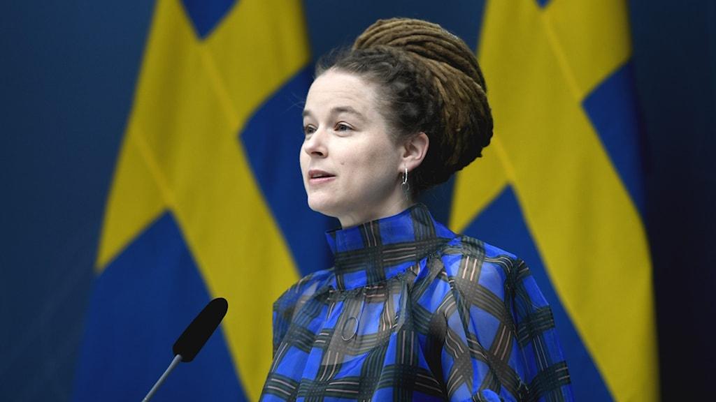 Kulturminister Amanda Lind.