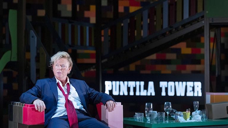 Lisa Lindgren som Herr Puntila