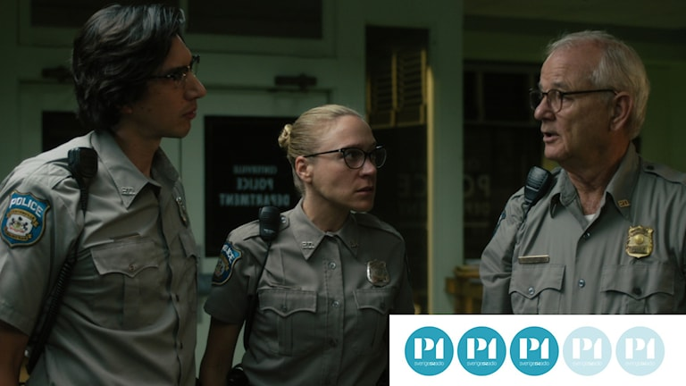 Adam Driver, Chloë Sevigny och Bill Murray i The Dead Don´t Die.