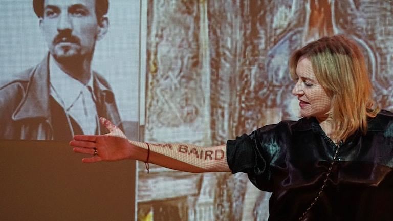 "Sylvia Rauan i ""I love Chris"" på Fri scen på Stadsteatern"