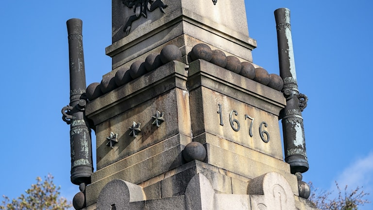 Kanoner stulna från monumentet över slaget vid Lund.