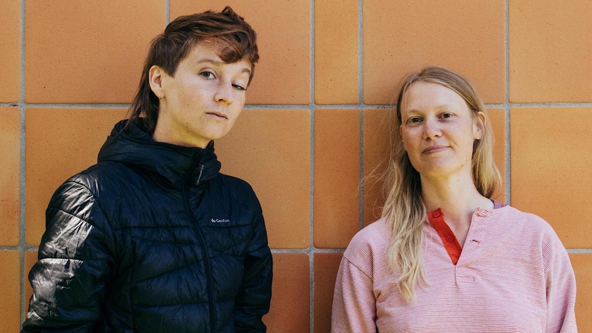 Lisa Färnström och Robin N Spegel har gjort stadsvandringsdramat Straight Passing.