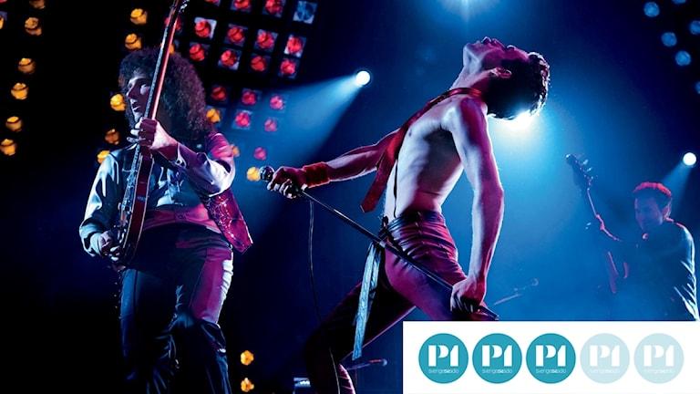 "Rami Malek spelar Freddie Mercury i filmen ""Bohemian Rhapsody"""