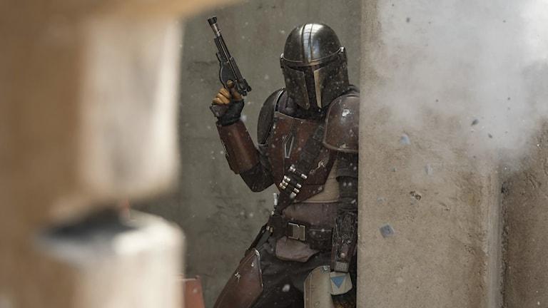 Disney plus lanseras i tre länder tisdag den 12 november och det stora dragplåstret är den nya Star Wars-serien The Mandalorian.