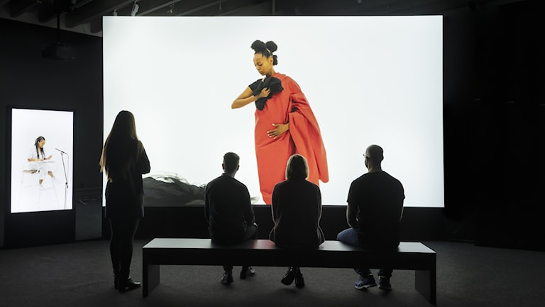 """Den tredje delen i Grada Kilombas """"Illusions"""" visas tillsammans med sina föregångare på Bildmuseet i Umeå."""