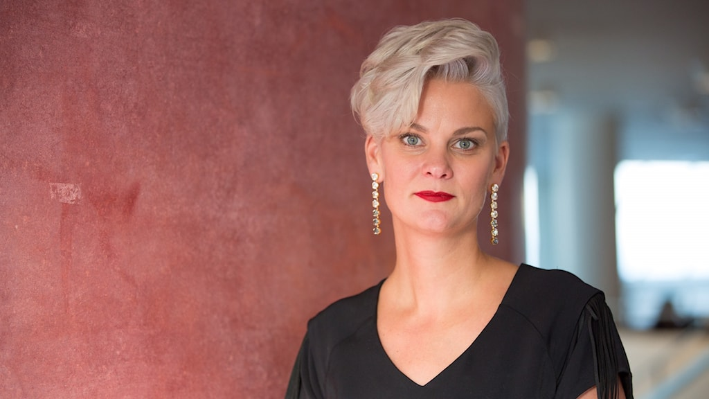 Frida Edman är tf vd för Bokmässan i Göteborg.