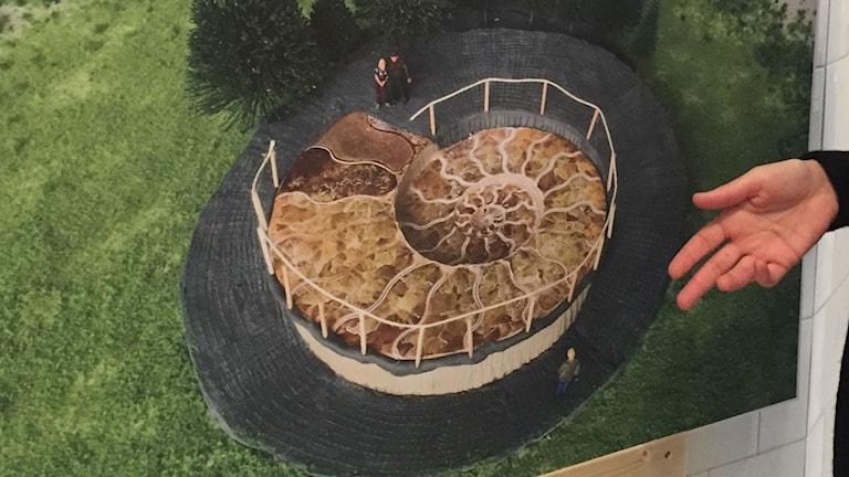Cirkelformen återkommer i flera av förslagen till minnesvård för tsunamins offer 2004.