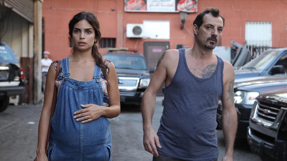Tony Hanna (Adel Karam) och hans fru Shirine Hanna (Rita Hayek)