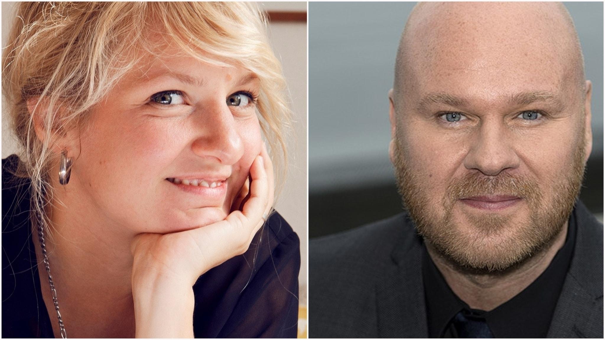 Andrea Tarrodi och Fredrik Kempe om skapandets villkor