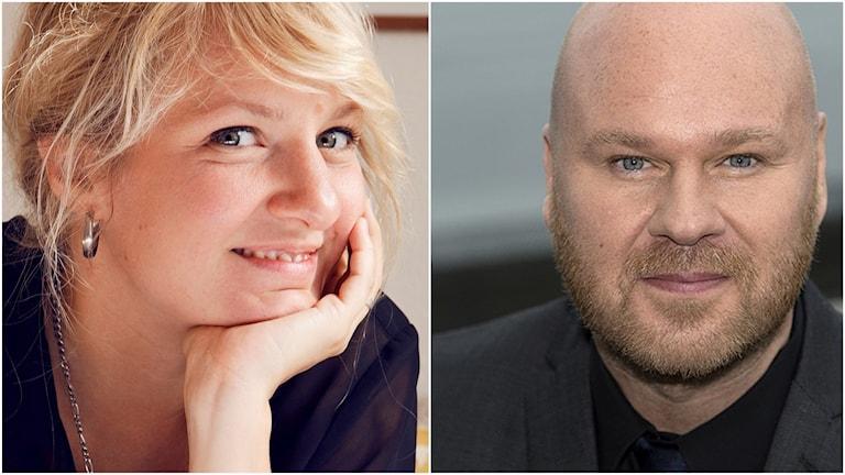Kompositörerna Andrea Tarrodi och Fredrik Kempe