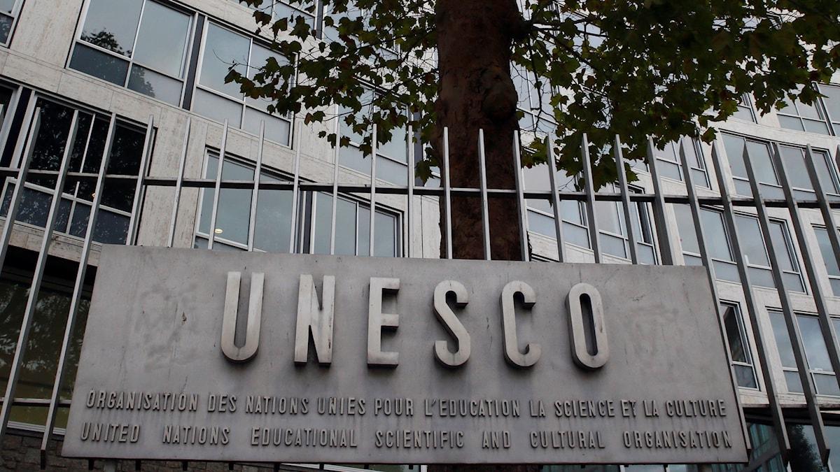 Unescos högkvarter i Paris.