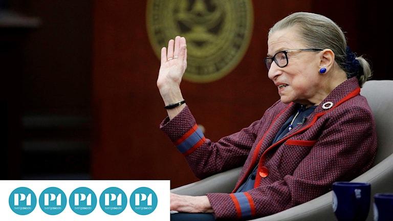 """Juristen Ruth Bader Ginsburg (även kallad RBG) har även blivit en sorts populärkulturell ikon – och nu ägnats filmen """"RBG""""."""
