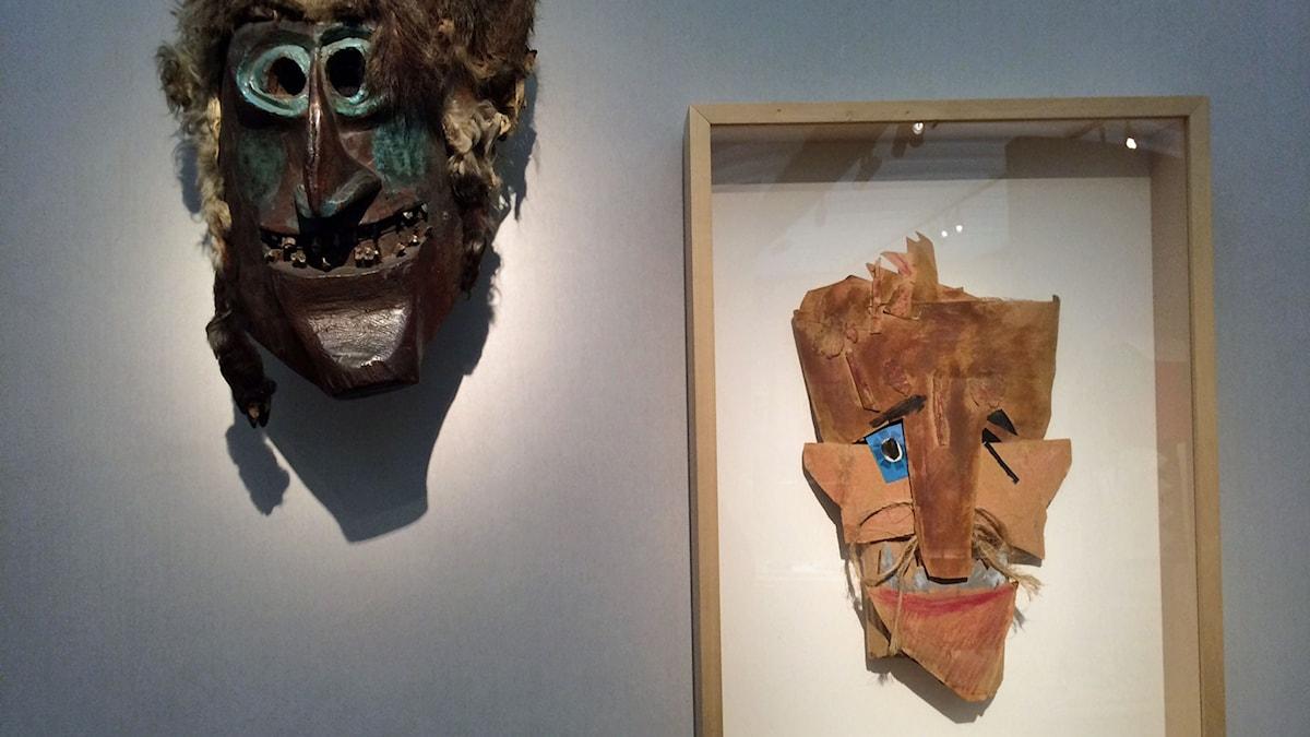 Masker av Marcel Janco