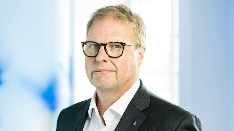 Bilden föreställer Liberalernas kulturtalesperson Bengt Eliasson.