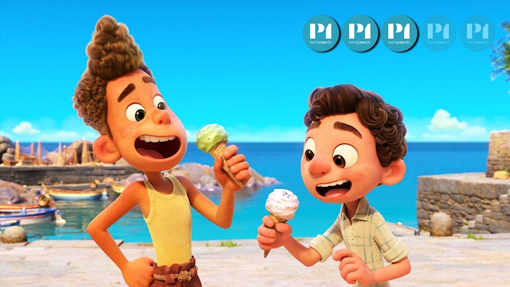 """Pixars film """"Luca"""" utspelar sig i Italien."""