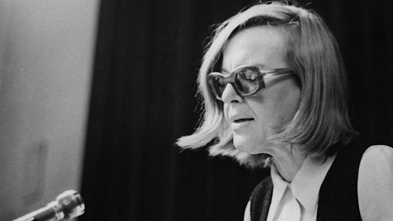 Ingeborg Bachmann föreläser