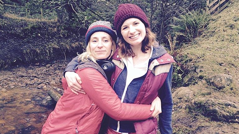 Regissören Rachel Tunnard med skådespelaren Jodie Whittaker i Adult life skills.