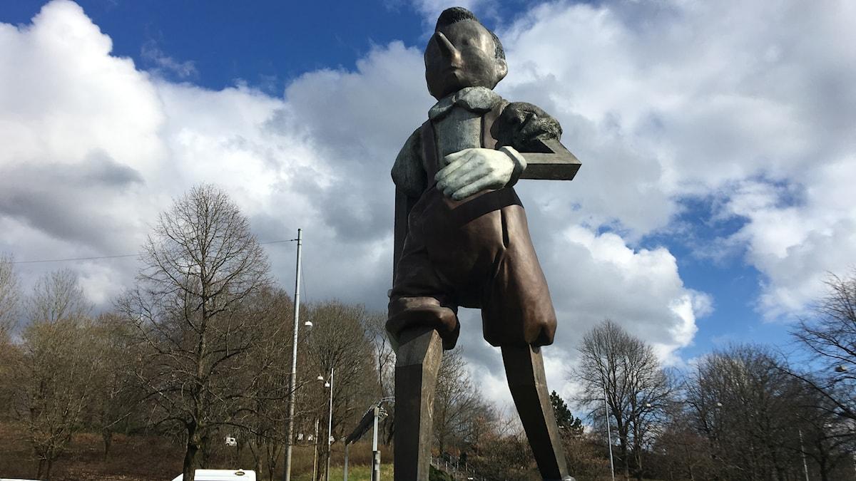 """Jim Dines """"Walking to Borås"""""""