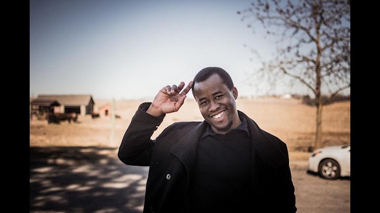 Författaren Chigozie Obioma.