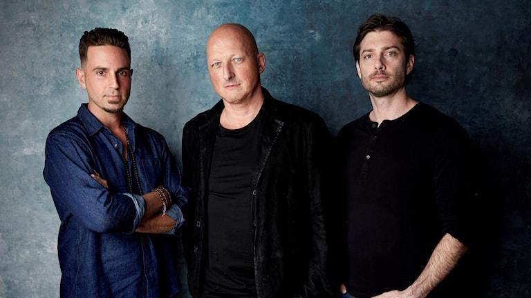 Dan Reed, Wade Robson och James Safechuck.