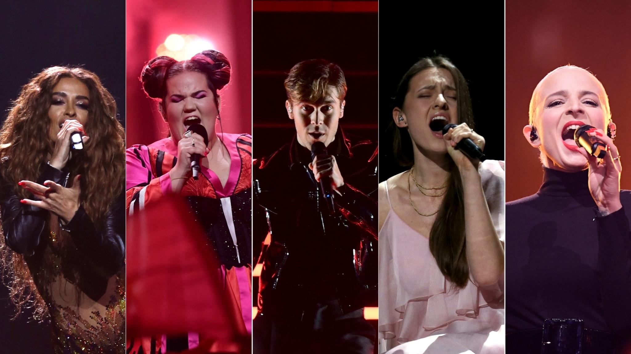 Eurovision Song Contest final - direkt från Lissabon (del 2)