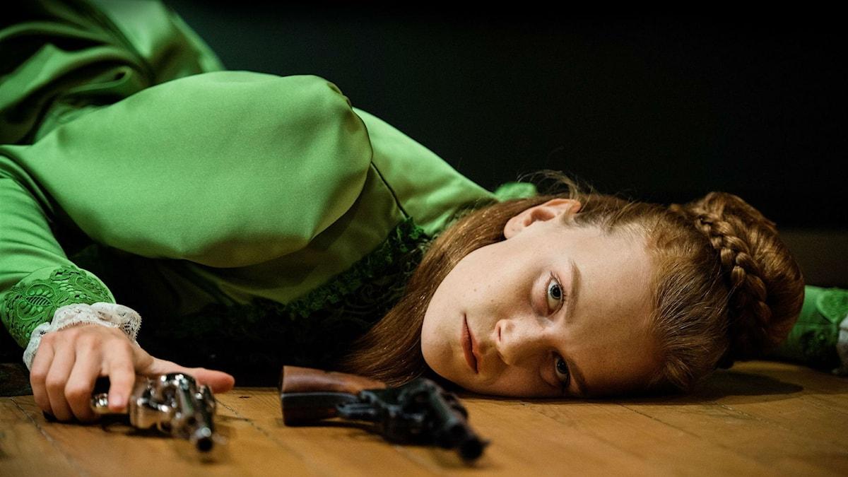 Hedda Gabler (Electra Hallman) på Dramaten