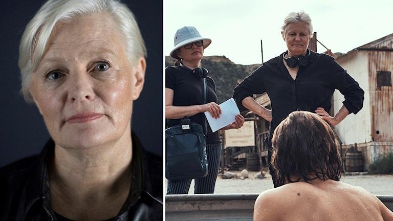 """Regissören Mary Harron, aktuell med filmen """"Charlie says""""."""