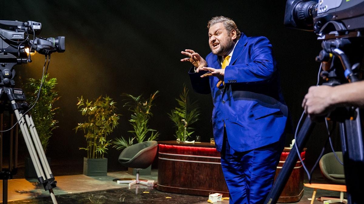 Falstaff på Malmö Opera - Misha Kiria