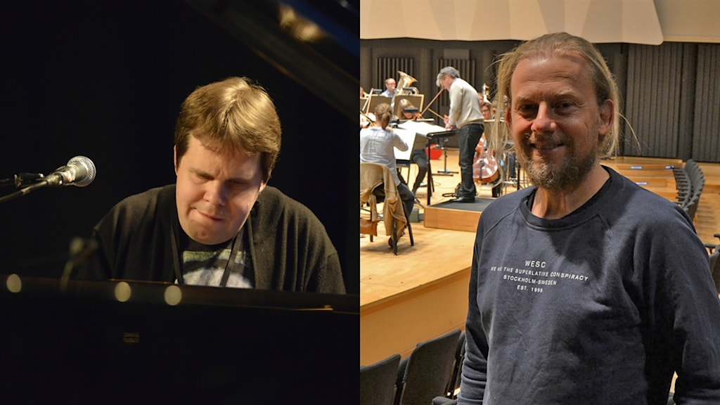 Mats Öberg och Morgan Ågren. Foto: Kjell Oscarsson och Peter Öberg, Sveriges Radio.