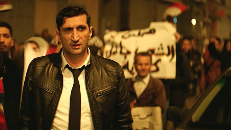 "Skådespelaren Fares Fares spelar huvudrollen i ""The Nile Hilton Incident"""