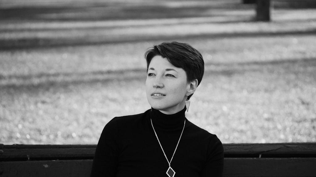 Den belarusiska poeten Julia Tsimafejeva