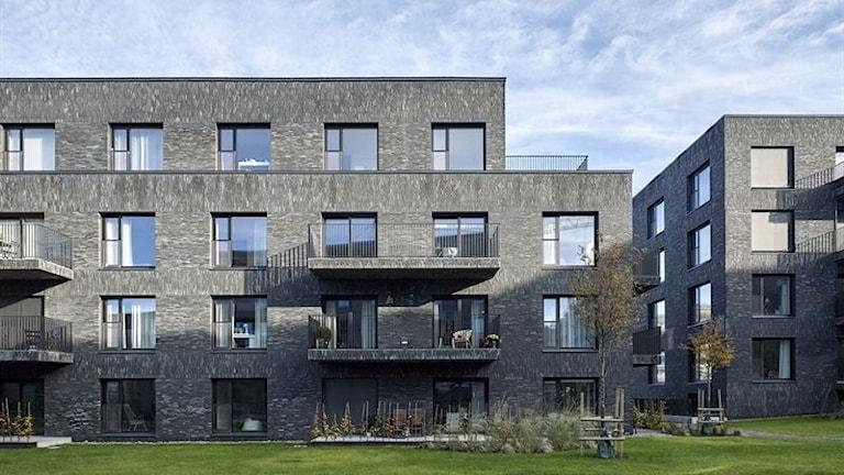 Bostadshuset HSB Studio 1 i Örgryte har tilldelats Kasper Salin-priset. Foto: Ulf Celander/TT