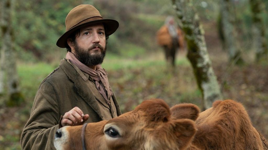 John Magaro spelar huvudrollen som Cookie i Kelly Reichardts film First Cow.