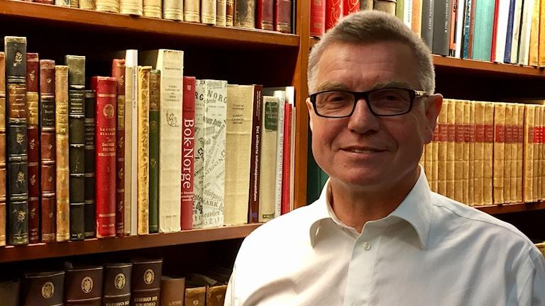 Roger Jøsevold, biträdande chef på norska nationalbiblioteket.