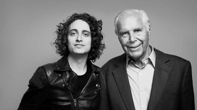 Jacob Mühlrad och finansmannen Anders Wall. Foto: Pierre Björk.