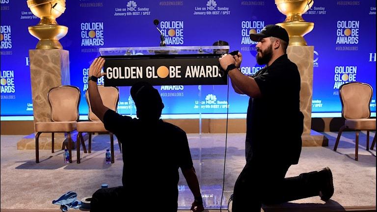 Golden Globe-nomineringarna presenteras på Beverly Hilton hotel i Beverly Hills.