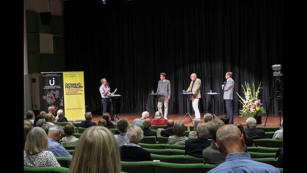 Östersjöfestivalens historia. Foto: Karl Thorson/SR