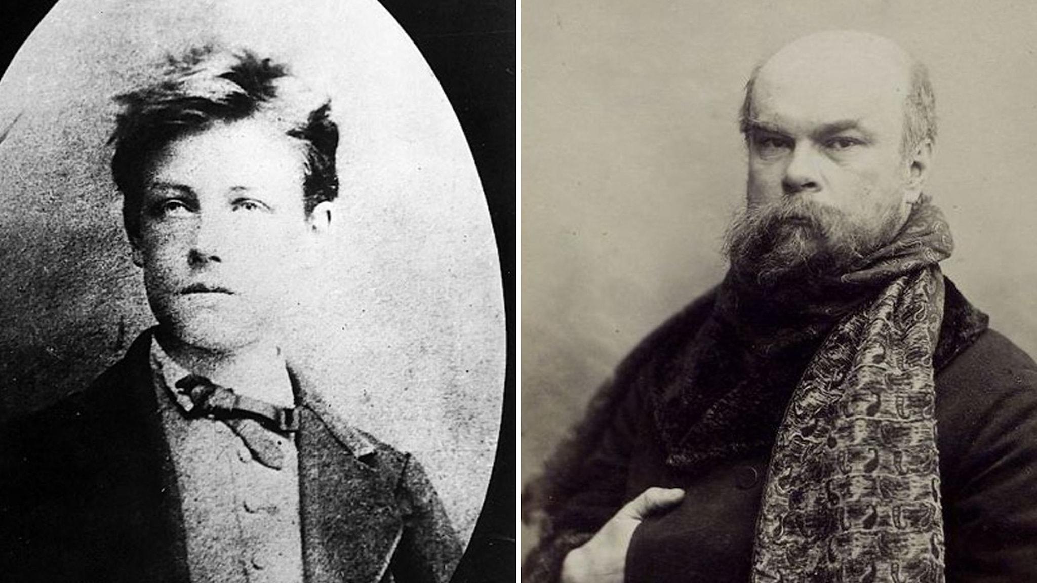 Poeterna Artur Rimbaud och Paul Verlaine
